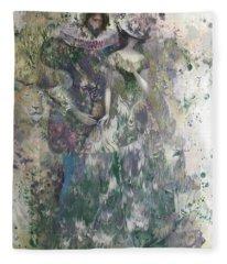 Romeo And Juliet. Monotype Fleece Blanket