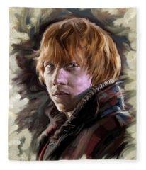 Ron Weasley, Harry Potter Portrait Fleece Blanket
