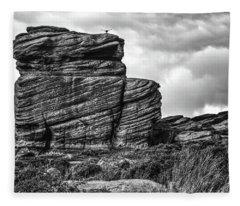 Rook Rock Fleece Blanket