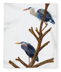 Rookery Fleece Blanket