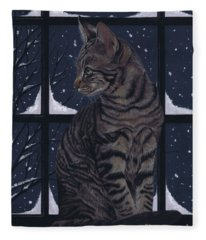 Room With A View Fleece Blanket