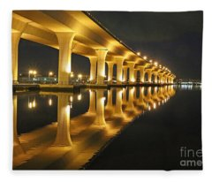 Roosevelt Reflection Fleece Blanket