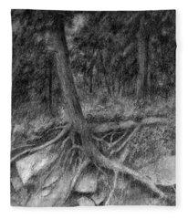 Roots II Fleece Blanket