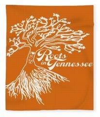 Roots In Tennessee Fleece Blanket
