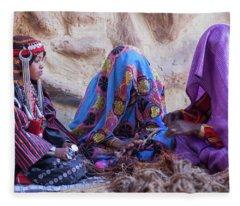 Rope Makers Fleece Blanket