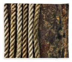 Ropes Fleece Blanket