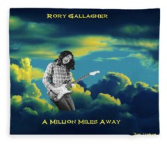 Million Miles Away Fleece Blanket