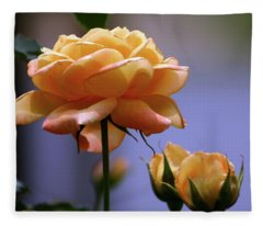 Rose 1156 H_2 Fleece Blanket