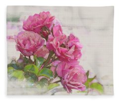 Rose 2 Fleece Blanket