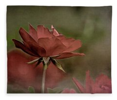 Rose 5 Fleece Blanket