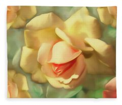 Rose Dream 4 Fleece Blanket