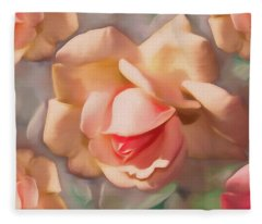 Rose Dream 5 Fleece Blanket