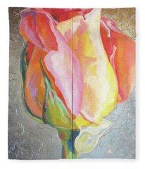 Rose Fleece Blanket