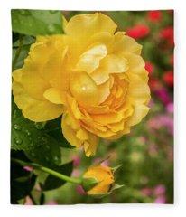 Rose, Julia Child Fleece Blanket