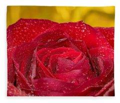 Rose N Gold Fleece Blanket