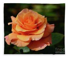 Rose Unfurled Fleece Blanket