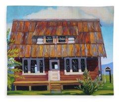 Roseberry House Fleece Blanket
