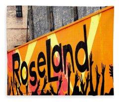 Roseland Ballroom In Nyc Fleece Blanket