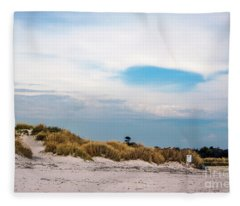 Rosignano Beach Fleece Blanket