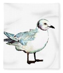 Ross's Gull Fleece Blanket