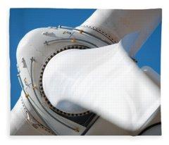 Rotation Fleece Blanket