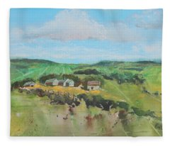 Rough Country Fleece Blanket