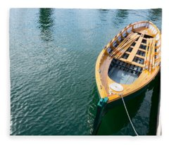 Rowboat Fleece Blanket