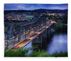 Royal Alexandra Interprovincial Bridge Fleece Blanket
