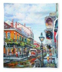 Royal Balconies Fleece Blanket