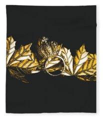 Royal Crown Jewels Fleece Blanket