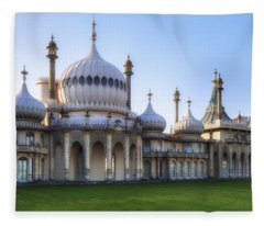 Royal Pavilion Brighton Fleece Blanket