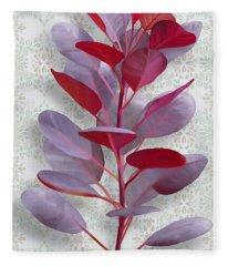 Royal Purple Fleece Blanket