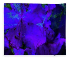 Royal Purple Fleece Blanket