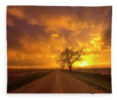 Rtn- Heaven's Gate   Fleece Blanket