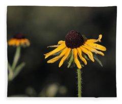 Rudbeckia Hirta Fleece Blanket