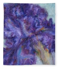 Ruffled Fleece Blanket