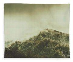Rugged Atmosphere Fleece Blanket