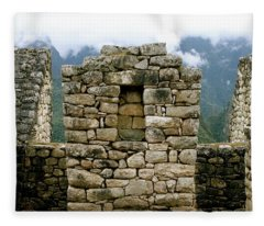 Ruins In A Lost City Fleece Blanket