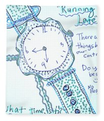 On Time Fleece Blanket