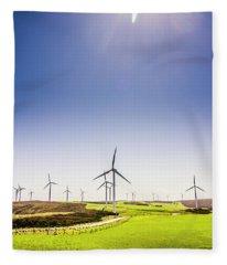 Rural Power Fleece Blanket