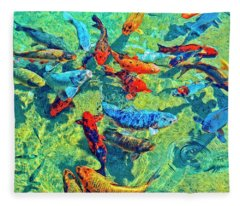 Rush Hour Fleece Blanket