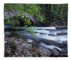 Rushing Water Fleece Blanket