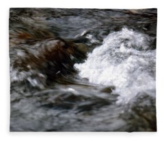 Rushing Waters Fleece Blanket