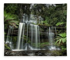 Russell Falls Fleece Blanket