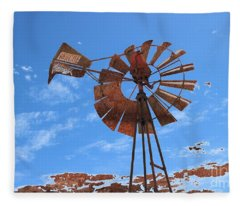 Rust Age Fleece Blanket