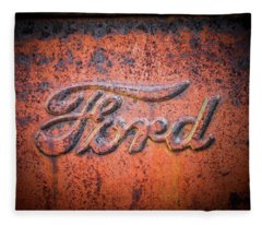 Rust Never Sleeps - Ford Fleece Blanket