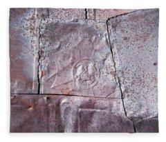 Rusted Tin Fleece Blanket