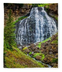 Rustic Falls  Fleece Blanket