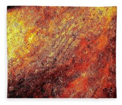 Rusty Flirt Fleece Blanket