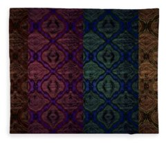 Rusty Fleece Blanket